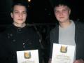 Мошкин Владимир и Косых Николай (справа)