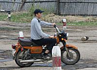 Практическое обучение вождению мотоцикла
